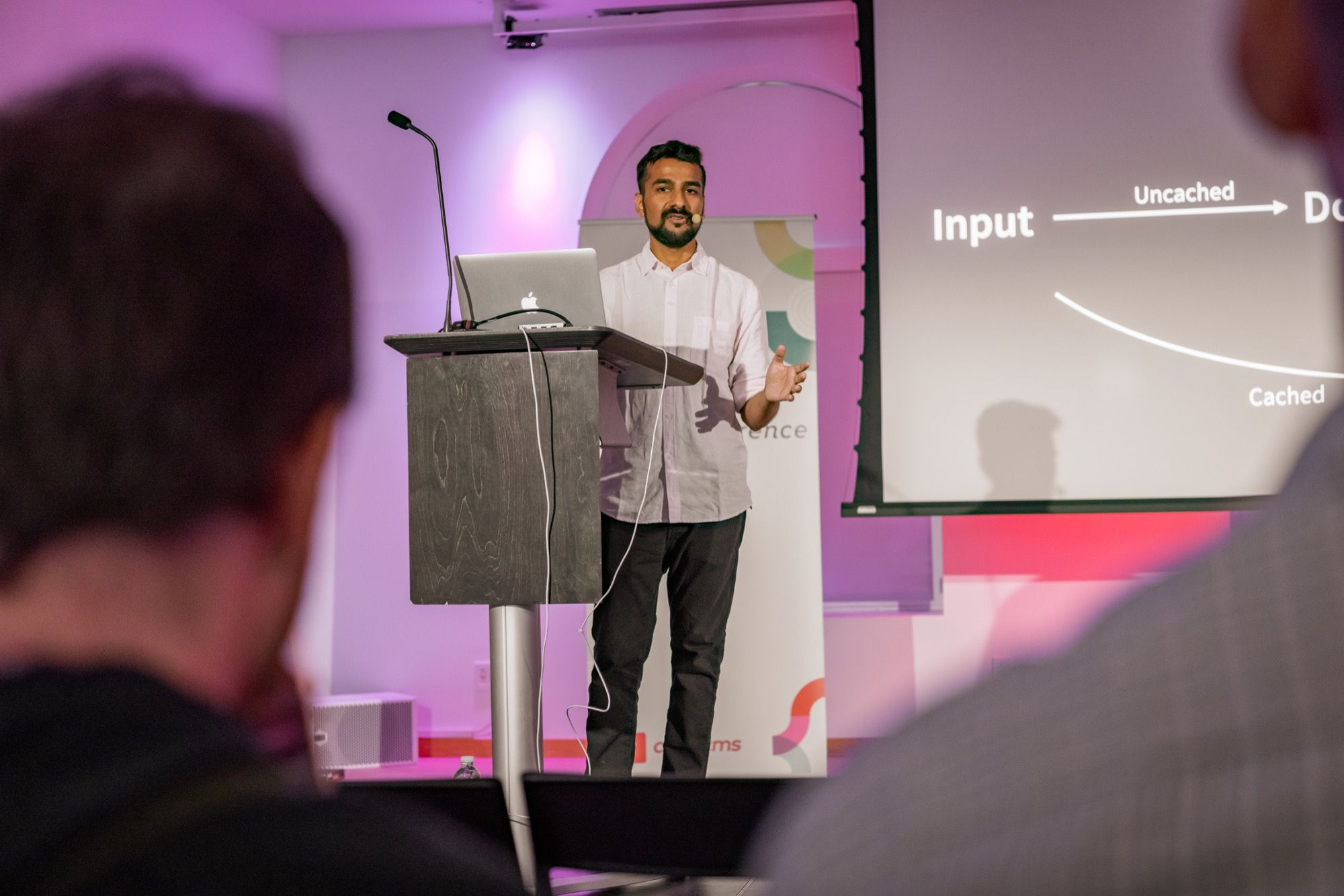 Prateek speaking at Dot All 2019