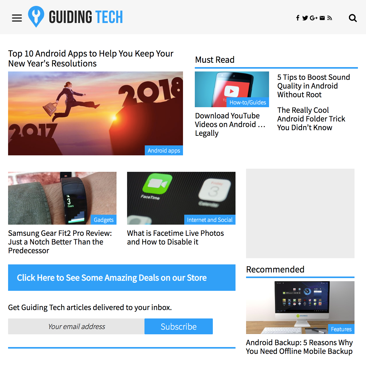 Guiding Tech website v1